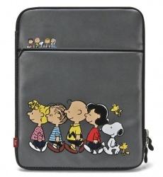 iLuv Funda Peanuts para iPad/iPad 2/iPad 3, Gris