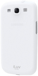 iLuv Carcasa de Gel para Samsung Galaxy S III, Blanco