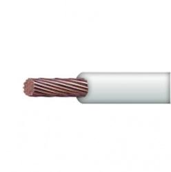 Indiana Bobina de Cable de Señal, 100 Metros, Blanco