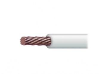 Indiana Cable de Señal, 10 AWG, Blanco - Precio por Metro