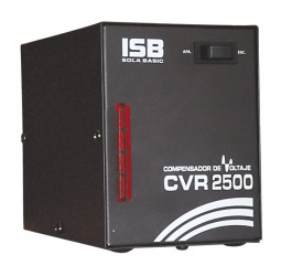 Regulador Industrias Sola Basic CVR-2500, 1500W, 2500VA