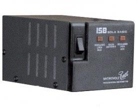 Regulador Industrias Sola Basic Microvolt Inet, 2000VA, Entrada 100-127V, 4 Salidas