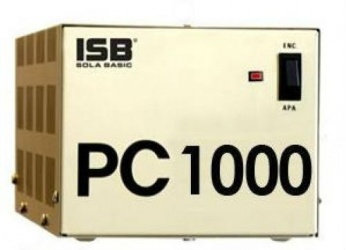 Regulador Industrias Sola Basic PC-1000, 1000VA, Entrada 100-127V