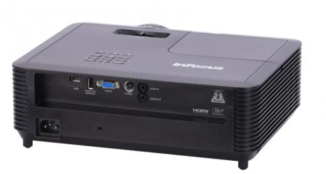 Proyector InFocus IN118AA DLP, 1080p 1920 x 1080, 3400 Lúmenes, 3D, con Bocinas, Negro