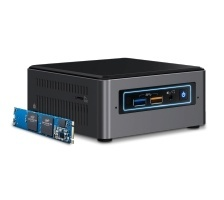 Intel NUC Kit NUC7i5BNHX1, Intel Core i5-7260U 2.20GHz, 16GB Optane (Barebone)