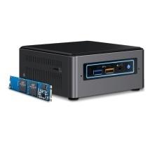 Intel NUC Kit NUC7i5BNHX1, Intel Core i5-7260U 2.20GHz, 16GB Optane (Barebone)
