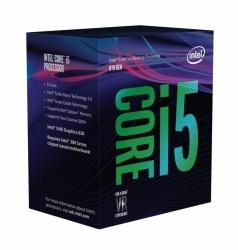 Procesador Intel Core i5-8600, S-1151, 3.10GHz, Six-Core, 9MB Smart Cache (8va. Generación Coffee Lake) ― Compatible solo con tarjetas madre serie 300