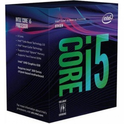 Procesador Intel Core i5-8600K, S-1151, 3.60GHz, Six-Core, 9MB Smart Cache (8va. Generación - Coffee Lake) ― Compatible solo con tarjetas madre serie 300