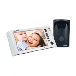 "Intelbras Kit Videoportero IV 7000 HF, Incluye Monitor 7"", Altavoz, Negro/Blanco"