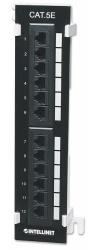 Intellinet Panel de Parcheo Cat5e para Pared, 12 Puertos