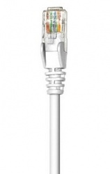Intellinet Cable Patch Cat5e UTP RJ-45 Macho - RJ-45 Macho, 1 Metro, Blanco