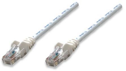 Intellinet Cable Patch Cat6 UTP RJ-45 Macho - RJ-45 Macho, 2 Metros, Blanco