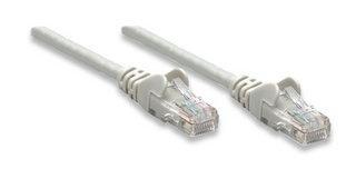 Intellinet Cable Patch Cat5e UTP CCA, RJ-45 Macho - RJ-45 Macho, 7.5 Metros, Gris