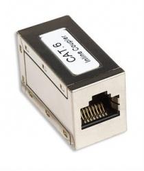 Intellinet Acoplador Modular Categoría 6, RJ-45, Metálico