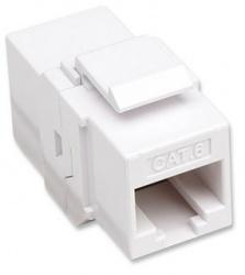 Intellinet Conector RJ-45 Hembra - RJ-45 Hembra, Blanco
