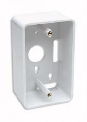 Intellinet Caja para Pared Sencilla 517874, Profunidad de 4.80cm, Blanco