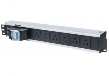 Intellinet PDU para Rack 1.5U 713948, 15A, 125V, 6 Contactos