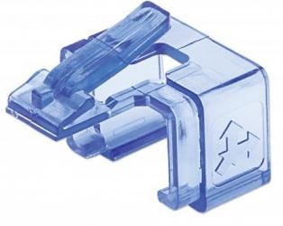 Intellinet Clip de Repuesto RJ-45, Azul, 50 Piezas