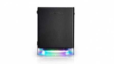 Gabinete In Win A1 Plus con Ventana RGB, Mini-Tower, Mini-ITX, USB 3.0, incluye Fuente de 650W, Negro