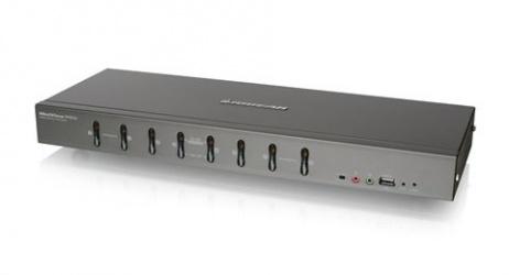 Iogear Switch KVM GCS1108, 8 Puertos DVI-I