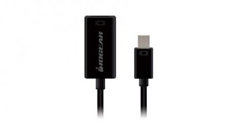 Iogear Adaptador Mini DisplayPort Macho - HDMI Hembra, Negro