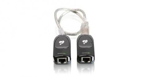 Iogear Extensor de Red USB GUCE51, Alámbrico, Cat5/Cat5e