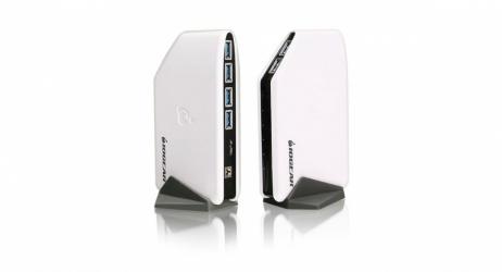 Iogear Hub USB Macho - 6x USB 3.0 Hembra, 5000Mbit/s, Blanco