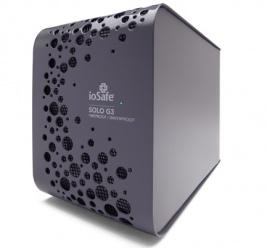 Disco Duro Externo ioSafe Solo G3, 2TB, USB-B, Gris, A Prueba de Agua - para Mac/PC
