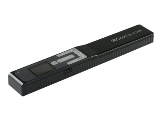 Scanner I.R.I.S. IRIScan Book 5, 1200 x 1200DPI, Escáner Color, USB 2.0, Negro