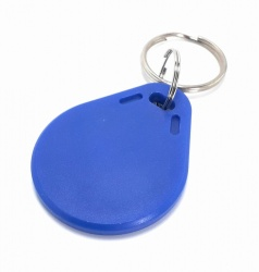 iSmart Llavero de Proximidad NFC, Azul, 10 Piezas