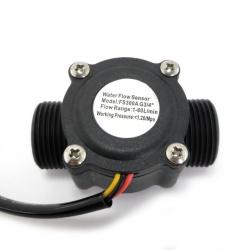 iSmart Sensor de Flujo de Agua  FS300A, 3.5 - 24V, -25oC a 80oC, Arduino, Pic, Raspberry Pi, PLCs.