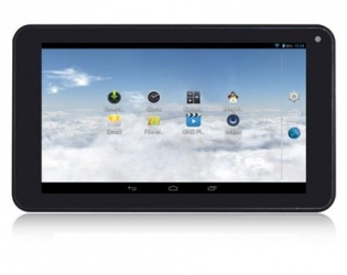 Tablet IVIEW 733TPC 7'', 8GB, 1024 x 600 Pixeles, Android 4.4, WLAN, Negro