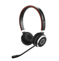 Jabra Audífonos con Micrófono Evolve 65 MS Stereo, Bluetooth, Inalámbrico, Negro