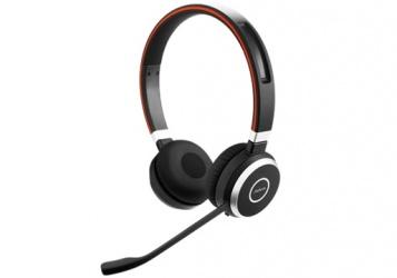 Jabra Audífonos con Micrófono Evolve 65, Wired/Bluetooth, USB, Negro