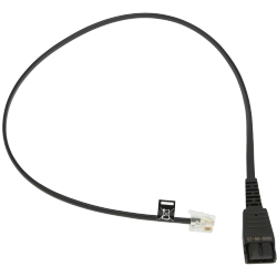 Jabra Cable para auriculares QD - RJ10, 50cm, Negro