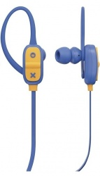 JAM Audífonos Intrauriculares con Micrófono Live Large, Inalámbrico, Bluetooth, USB, Azul