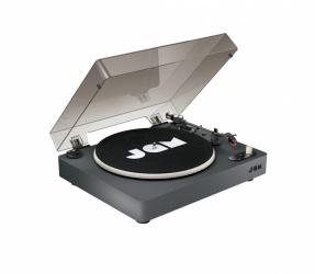 JAM Spun Out Tocadiscos, Bluetooth, USB, Negro
