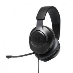 JBL Audífonos Gamer con Micrófono Quantum 100 para PC/Nintendo Switch/Xbox One/PS4, Alámbrico, 3.5mm, Negro