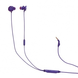 JBL Audífonos Gamer con Micrófono Quantum 50 para PC/NintendoSwitch/Xbox/PS4, Alámbrico, 3.5mm, Morado