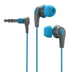 JLAB Audífonos Intrauriculares Deportivos Jbuds2 Signature Earbuds, Alámbrico, Azul/Gris