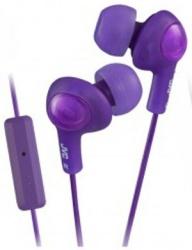 JVC Audífonos Intrauriculares con Micrófono HA-FR6, Alámbrico, 1 Metro, 3.5mm, Violeta