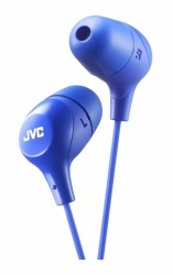 JVC Audífonos Intrauriculares Marshmallow, Alámbrico, 1 Metro, Azul