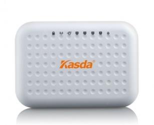Router Kasda Fast Ethernet KW55293, Inalámbrico, 300 Mbit/s, 4x RJ-45, 2.4GHz, con 2 Antenas Internas de 3dBi