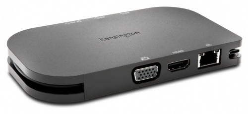 Kensington Docking Station K33968WW USB-C, 2x USB 3.0, 1x USB-C, 1x HDMI, 1x RJ-45, Gris
