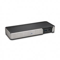 Kensington Docking Station SD5200T Thunderbolt 3, 1x USB 2.0,1x DisplayPort, 1x RJ-45, Plata