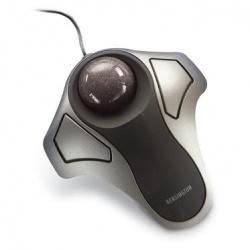 Mouse Kensington Trackball Orbit, Alámbrico, USB, Negro