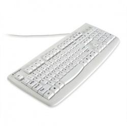 Teclado Kensington K64406US Lavable, Alámbrico, USB + PS/2, Blanco