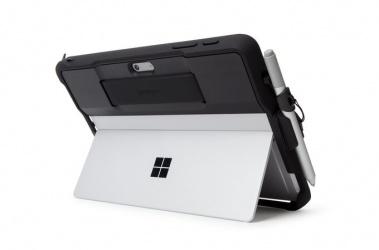 Kensington Funda de TPU BlackBelt para Surface Go/2, Negro/Gris