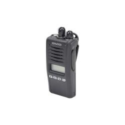 Kenwood Radio Análogo Portátil de 2 Vías NX-220-K2IS-S, 260 Canales, Negro - no incluye Antena ni Batería