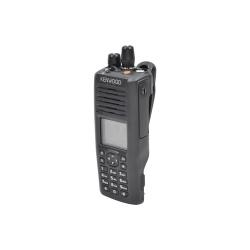 Kenwood Radio Digital Portátil de 2 Vías NX-5200-K3S, 1024 Canales, Negro - no incluye Antena ni Batería